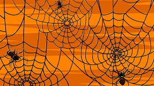 halloween background outlines halloween background vector spiders royalty free cliparts vectors