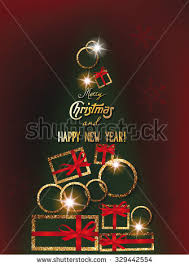 new year greeting cards images christmas new year greeting cards abstract stock vector 329442554