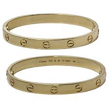 cartier bracelet love bangles images Cartier 18k yellow gold love bangle bracelet national pawn jewelry jpg