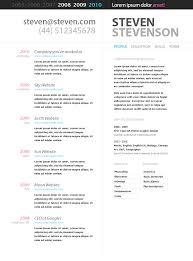 free google resume templates customer service resume templates