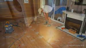 Laminate Flooring Over Concrete Slab Cork Flooring Installation On A Concrete Slab Youtube