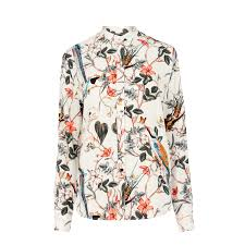 bird blouse warehouse floral bird print blouse 0 17