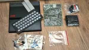 sinclair zx81 kit unbuilt 1981 youtube