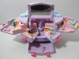 Toy Vanities Polly Pocket Bluebird 1991 Jewelry Box House Vanity One Polly