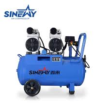 best portable home spray paint electric 6 bar 50l piston silent oil free air compressor for oil free air compressor on alibaba com