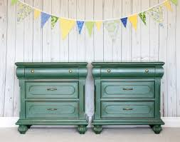 amsterdam green u0026 brass nightstands gypsy magpiegypsy magpie