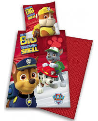 Small Single Duvet Paw Patrol No Pup Too Small Single Cotton Duvet Cover Set