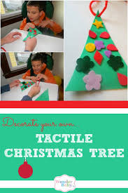 Decorate Your Own Christmas Tree Felt by Make Your Own Felt Tactile Christmas Tree Wonderbaby Org