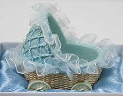 baby shower basket baby boy carriage basket baby shower favor it s a boy theme baby