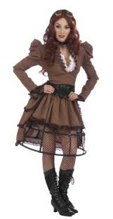 perfect steampunk halloween costume idea 2012 for the ladies