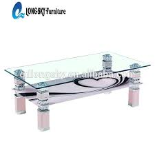 Glass Table Ls Buy Cheap China Glass Table Modern Nickel Products Find China