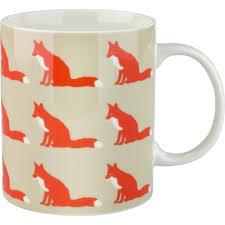 proud fox mug