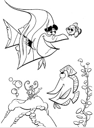 krafty kidz center finding nemo coloring pages