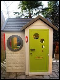 maisonnette de jardin enfant la cabane au fond du jardin my house de smoby cerise sur le