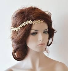 wedding headband bridal pearl hair vine bridal headband bridal