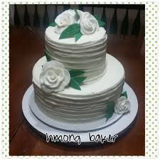 simple wedding cake decorations how to make a simple 2 tier wedding cake
