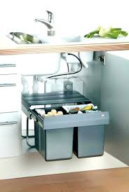 poubelle cuisine ouverture automatique poubelle sous evier automatique poubelle integrable cuisine