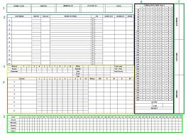 Ten Pin Bowling Sheet Template Bowling Sheet Yahtzee Sheets Calendar