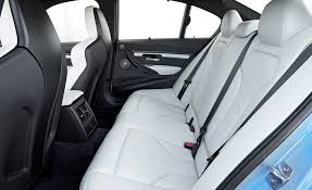 bmw m3 seats 2015 bmw m3 interior rear seats 8433 cars performance reviews