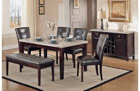 bm 815 marble top dining table