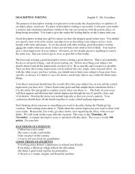 sample of descriptive essay about a place uf essay examples significance of this essay