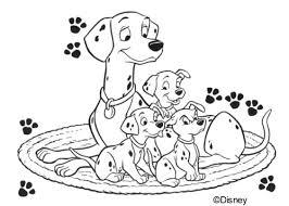 coloring pages 101 dalmatians picture 2