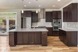 Espresso Colored Kitchen Cabinets Kitchen Design Magnificent Dark Wood Floors Oak Kitchen Cabinets