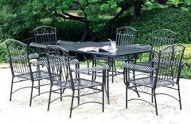 Wrought Iron Patio Dining Set Iron Patio Set And Style Wrought Iron Patio Set Table And
