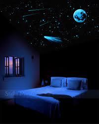 plafond chambre étoilé nuit ciel étoile au plafond lueur dans la 200 1000 foncé