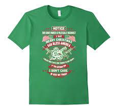 i say merry god bless america veteran t shirt goatstee