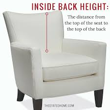 average height of couch seat standard sofa height is it right for you the stated home