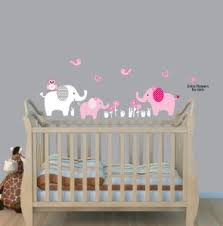 Safari Nursery Wall Decals Use Elephant Wall Decals And Elephant Stickers To Create An