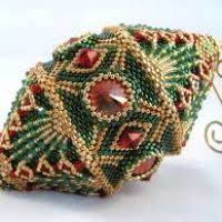 beaded ornament cover patterns free decore