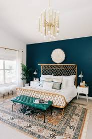 blue accent wall bedroom ideas newhomesandrews com