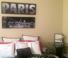 london paris new york bedroom theme home design