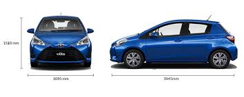 width of toyota yaris yaris ascent manual specifications