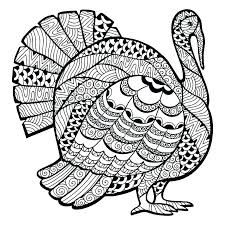 turkey color page free turkey coloring pages turkey coloring pages