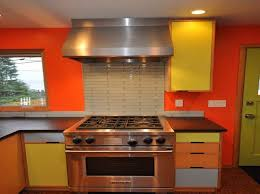 bright kitchen color ideas color ideas for kitchen walls with bright orange stuff to panyl