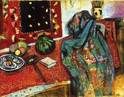Toile Rugs Still Life With A Red Rug 1906 Henri Matisse Wikiart Org