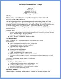 resume format for account managers salary jd templates junior account manager job description template best