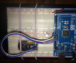 real time clock ds1302 8 steps