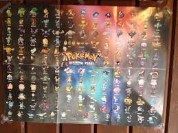 i like how some pokemon on this poster randomly have their