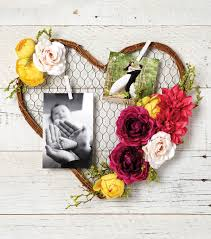 heart wreath make a chicken wire heart wreath with photos joann