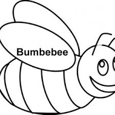 bumble bee outline coloring free download