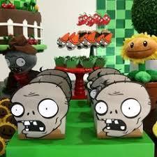 plants vs zombies birthday pin the eyeball on the