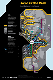 across the wall israeli settlement bus routes u2014 visualizing palestine
