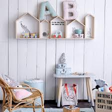 etagere maison bloomingville acheter bloomingville étagère murale maison bois blanc set de 3