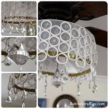 Ceiling Fan And Chandelier Batchelors Way Diy Ceiling Fan Chandelier