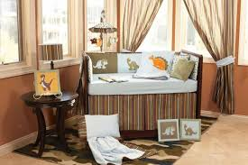 baby room with nursery bedding sets in dinosaur theme the must