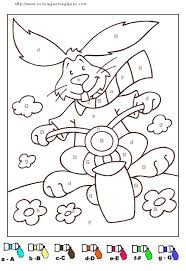 coloriage code maternelle gs
